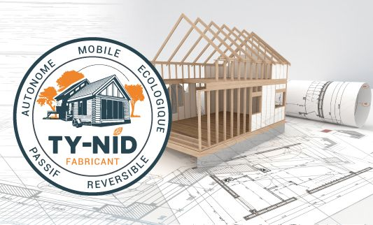 Label TY NID construction de Tiny house
